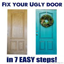 How To Paint An Exterior Door How To Paint Your Front Door All Things Thrifty