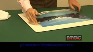 Mounting Posters Without Frames Photo U0026 Poster Mounting Using Self Adhesive Foamboard How To