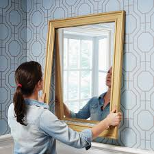 How To Frame A Bathroom Mirror With Crown Molding How To Make A Diy Mirror Frame With Moulding