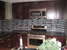 terrific white mosaic tile kitchen backsplash photo design