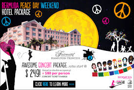 fairmont hotels peace weekend packages forever bermuda
