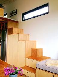 Modern Tiny House Extra Wide Modern Tiny House Comes With A Pop Out Reading Nook
