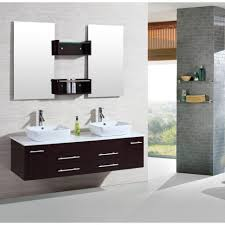 bathroom design bathroom large dark brown white wooden floating