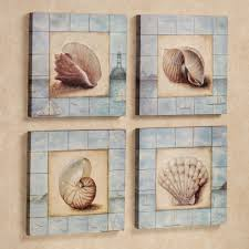 make nautical wall with seashell wall decor design ideas and decor