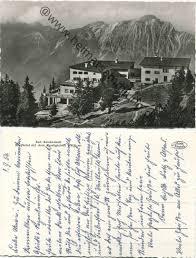 Predigtstuhl Bad Reichenhall Historische Ansichtskarten Bad Reichenhall 03