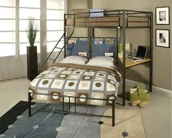 captivating full bunk bed with desk twin over full bunk bed with