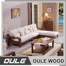 exposed wood frame sofa 2017 new modern design exposed solid wooden frame living room sofa