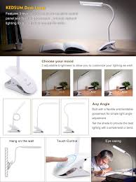 Best Inexpensive Desk Lamp Amazon Com Kedsum Dimmable Eye Care Led Desk Lamp 7w Flexible