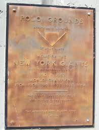 home plate where home plate once was at the polo grounds ephemeral new york