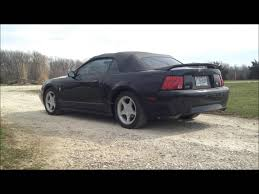 2000 Ford Mustang Black 1999 Mustang Gt Lowered 2 Inches Before And After Youtube