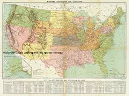 United States Map Poster by Welcome To Historynyc Historical Maps Poster Books And Custom