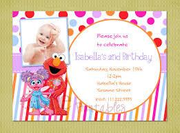 elmo and abby birthday invitations dolanpedia invitations ideas