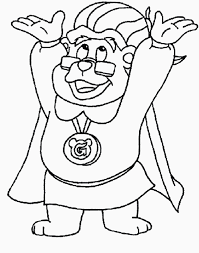 gummi bears colouring pages coloring
