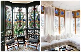 decorating with stained glass windows home u0026 garden design ideas