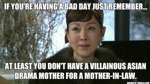 Asian Mother Meme - most evil korean 어머니 eomeoni polls k drama amino