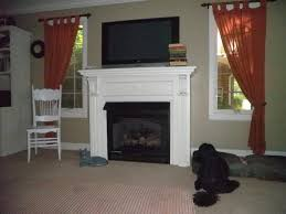 vent free gas fireplace with mantel best gas fireplace with
