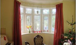curtains lovable curtains in front of bay window inspirational