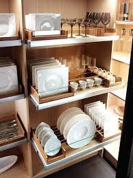 kitchen cabinet plate storage kitchen dish storage brilliant use for deep kitchen drawers plate