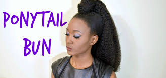 crochet braid ponytail diy crochet braid ponytail with a top knot bun fx senegalese