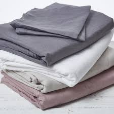 Grey Linen Bedding Luxury Bed Linen Duvet Covers Pillow Cases Bedspreads Linen