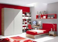 Interest Wall Colors For Bedrooms  Bedroom Colors Ideas Red Color - White and red bedroom designs