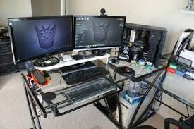 L Desk Staples Z Line Belaire Glass L Shaped Computer Desk Roselawnlutheran