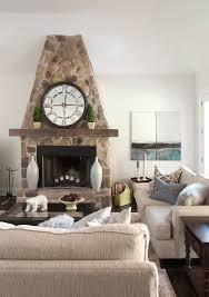 Mantel Topiaries - behr polar bear living room transitional with texture leather