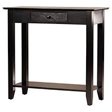 house of hton console table amazon com charlton home williams console table compact console