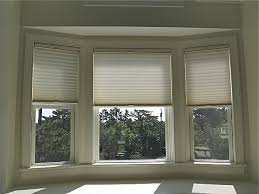 Blinds For Angled Windows - inspirations bay window coverings with roller blinds angled bay