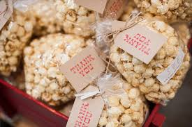 popcorn favors rustic wedding favors zapatosades top