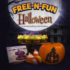 free fun halloween oriental trading