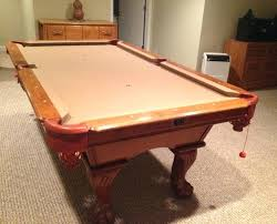 refelting a pool table how much to refelt pool table j ole com