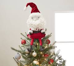 santa tree topper pottery barn kids