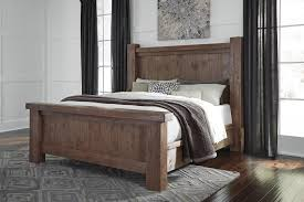 Avalon Bedroom Set Ashley Furniture Tamilo Queen Poster Bed By Ashley Home Gallery Stores