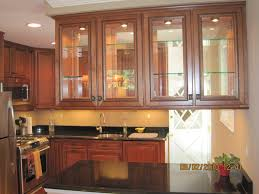 Wall Kitchen Cabinets With Glass Doors Beautiful Kitchen Cabinets With Glass Doors Rooms Decor And Ideas