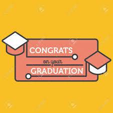 graduation poster congrats on your graduation poster royalty free cliparts vectors