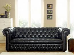 Leather Sofa Designs Living Room Black Leather Sofa Design With Texture