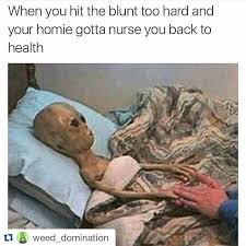 Fbf Meme - repost throwback little alien man awesome yes weed 420