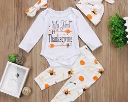 baby boy thanksgiving etsy