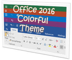 change the look of office 2016 using microsoft office themes
