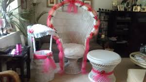 Decorating Chair For Baby Shower Products