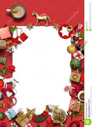 empty christmas card collection gifts and decorative ornaments