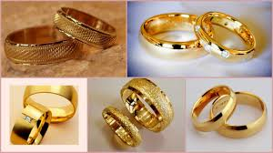 wedding gold rings couples wedding and engagement rings set