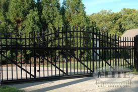 ziptrack aluminum ornamental gates elite fence products inc