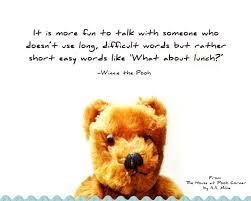 momathon blog happy thoughts from winnie the pooh