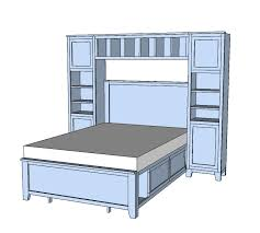 Ana White Pottery Barn Bed Ana White Hailey Towers For The Storage Bed System Diy Projects