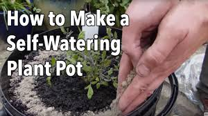 How To Make Self Watering Planters by How To Make A Self Watering Plant Pot Youtube
