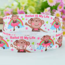 printed grosgrain ribbon monkey grosgrain ribbon online grosgrain ribbon printed monkey