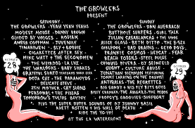 Six Flags Schedule The Growlers Six A Genre Defying Live Music Experience Curated
