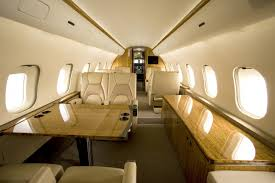 uncategorized classy private jet interior design with glossy